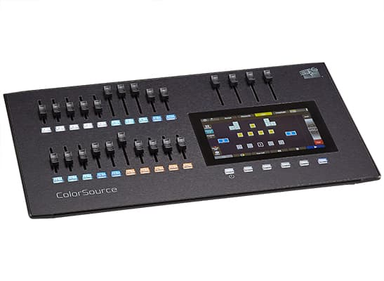 ColorSource 20 Control Desk;20 Faders, 40 Channels or Devices