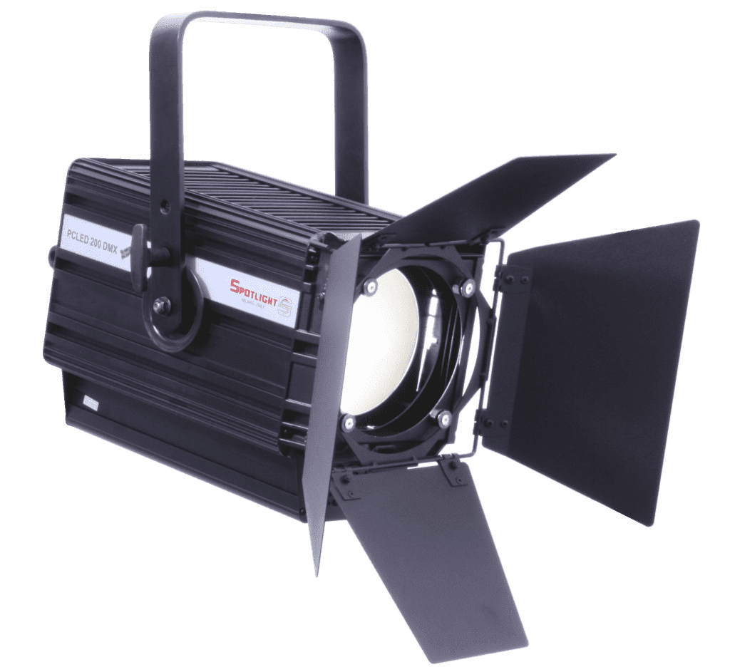 PC LED 200W, WW, zoom 08°-96°, 3000K, Universal Dimming control
