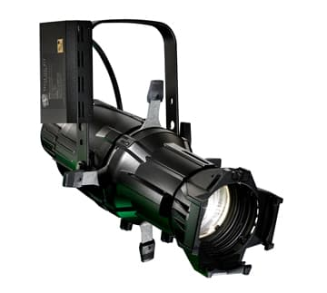 Source Four HID 150W luminaire body assembly, Black (Double-clutch for 5° Source Four HID)