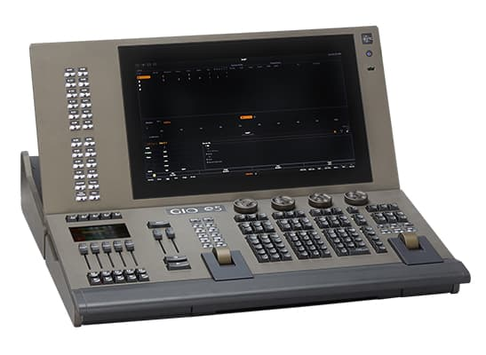 Gio @5 4K Lighting Control Desk