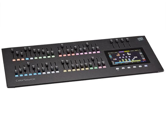 ColorSource 40 Control Desk;40 Faders, 80 Channels or Devices