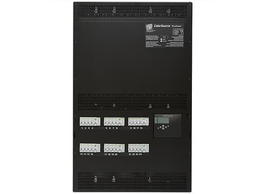 ColorSource ThruPower Cabinet; ND, 24x10A (2.3kW),RCD/4 circuits